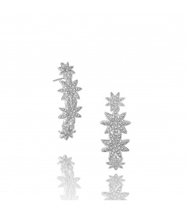 Vixi Nova Star Bar Statement Earrings