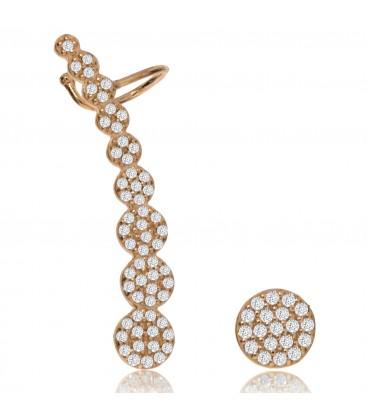 Penny Levi Asymmetric Earrings