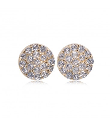 Penny Levi Small Pave Discs