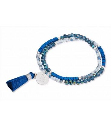 Boho Betty Classic Tassel Blue