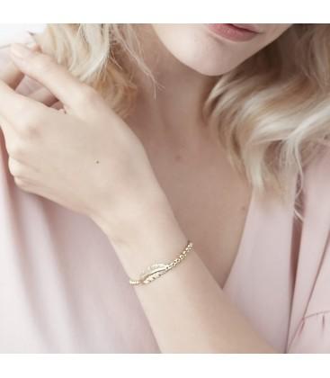 Feather Bracelet Gold