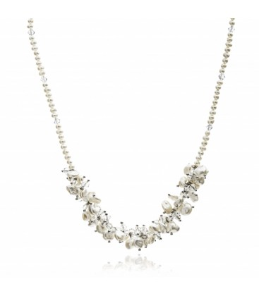 Keisha Pearl Necklace