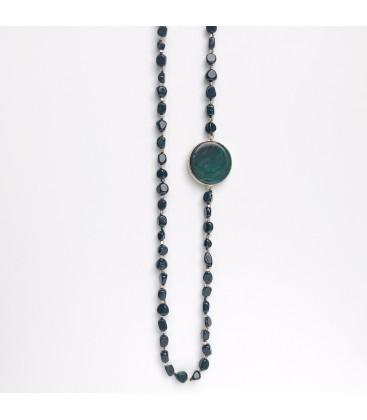 Bcharmd Stanwyck Green Sandstone Necklace