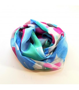 JoJo Blue Summer Scarf