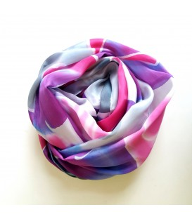 JoJo Blue Winter Scarf