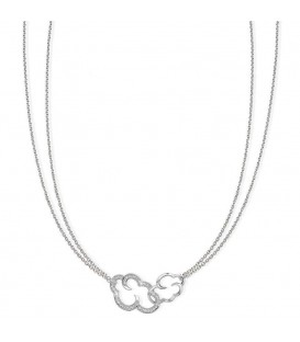 Daydream Linked Necklace Silver