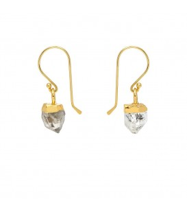 Mirabelle Herkimer Diamond Earrings