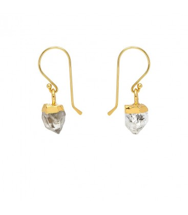 Mirabelle Herkimer Diamond Earrings