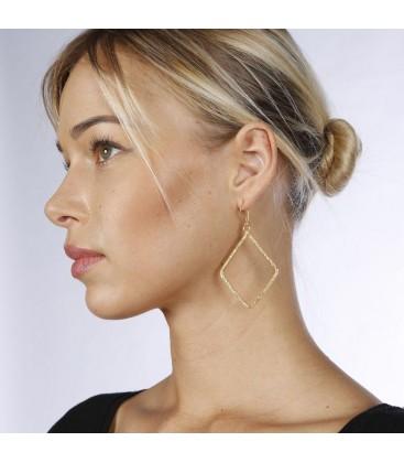 Mirabelle Losange Earrings - Large