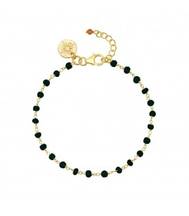 Mirabelle Black Onyx Bracelet with Spectite Garnet