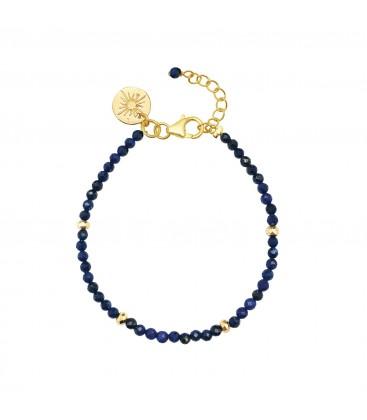 Mirabelle Lapis Lazuli Bead Bracelet