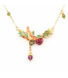 Woodland Bird Necklace