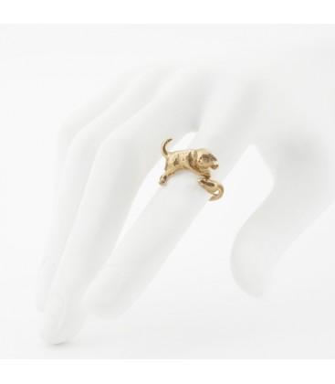 Kitten & Mouse Ring