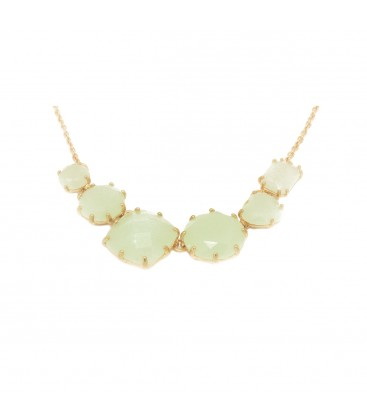 5 Stone Mint Necklace