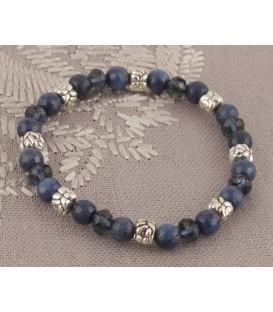 Navy Jade Bracelet