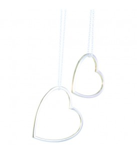 Shadow Heart Necklace Large