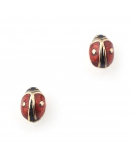 Bill Skinner Mini Ladybird Studs