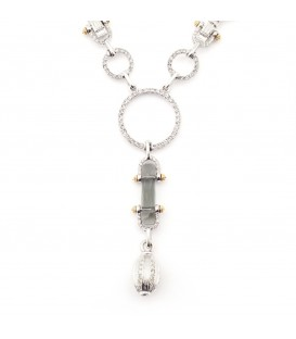 Manhattan Crystal Statement Necklace