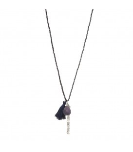 Oliver Necklace Navy