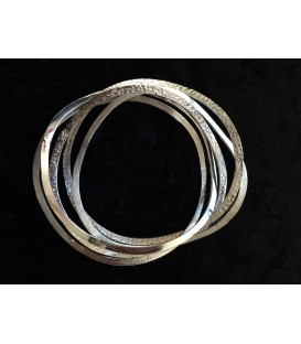 Chris Lewis Uneven Bangle