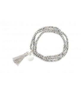 Boho Betty Classic Tassel Silver