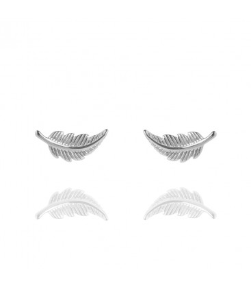 Muru Feather Stud Earrings