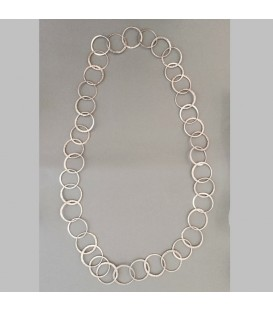 Classic Circles Long Necklace