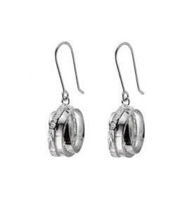 Chris Lewis Wound Hoop Earrings