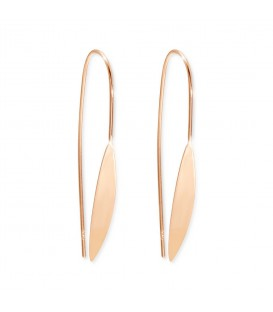 Boho Betty Rose Gold Spear Thread Through Earrings