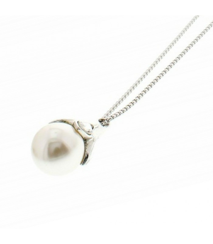 Large pearl long necklace sophisticato jewellery large pearl pendant necklace mozeypictures Images